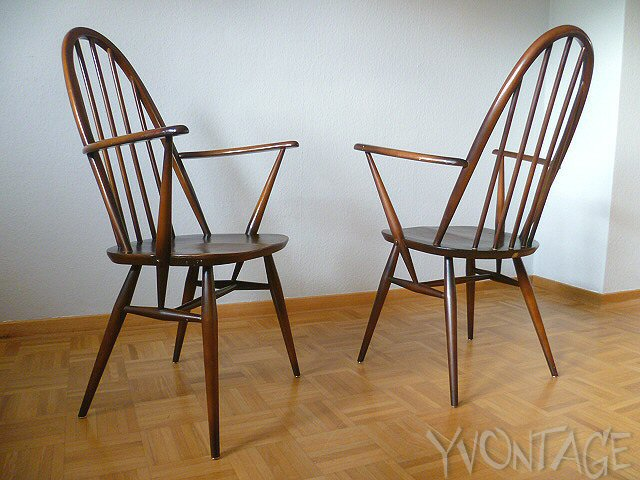 Original ercol chair armchair stuhl windsor quaker 1960 england 60er 50er ebay - Windsor stuhl ...