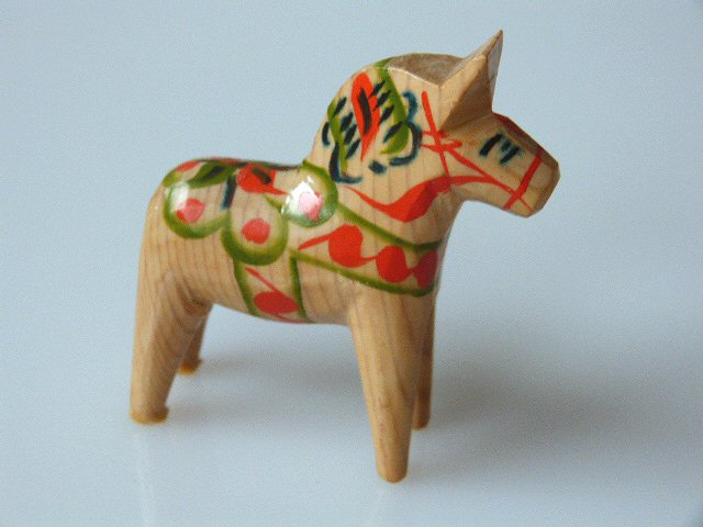 Dalarna Pferd dalapferd herde konvolut natur 4 dalarna pferd 15 7 5 cm olsson
