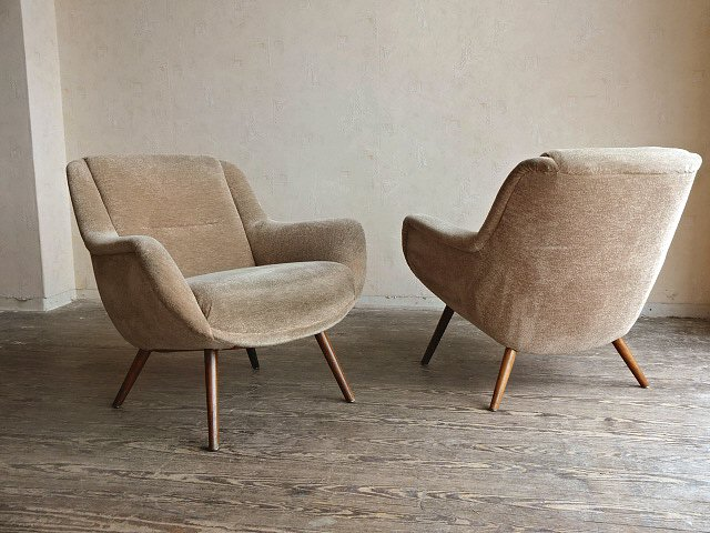 Cocktailsessel 50er  Stylische Lounge Chair Walter Knoll Modell 353 Sessel ...