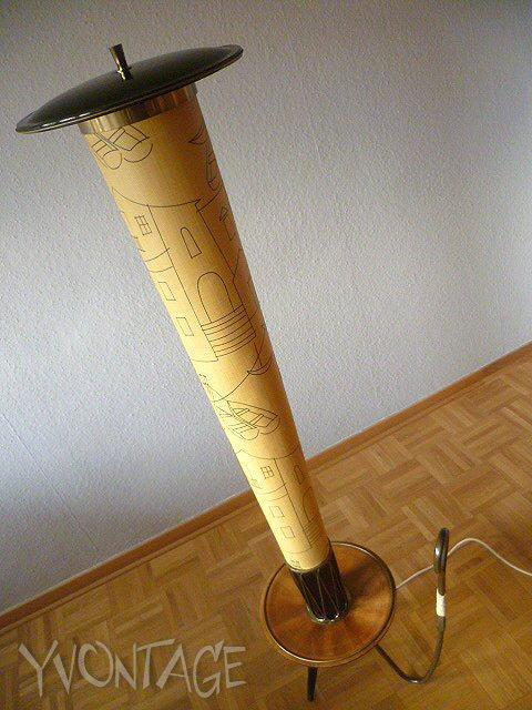 stehlampe stehleuchte fernsehleuchte lampe leuchte 50er. Black Bedroom Furniture Sets. Home Design Ideas