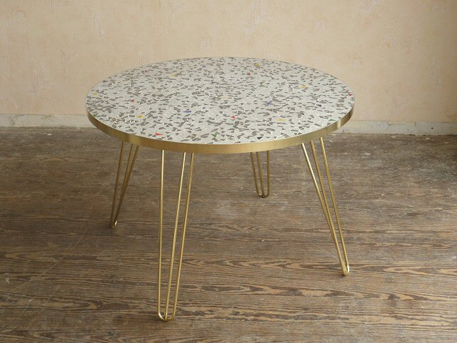 Exklusiver Coffee Table Mosaiktisch Fliesen Mosaik Tisch Hairpin