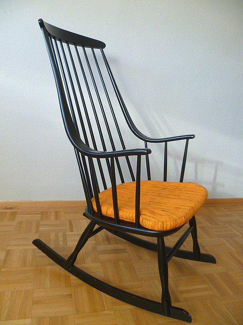 Designer rocking chair schaukelstuhl stuhl lena larsson for Gebrauchter schaukelstuhl