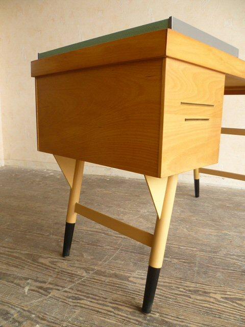 schreibtisch lady desk damenschreibtisch ekawerk klein 50er 60er ebay. Black Bedroom Furniture Sets. Home Design Ideas
