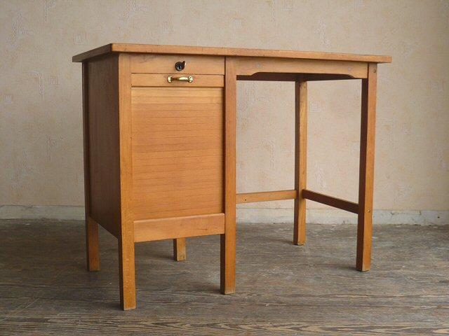 bauhaus rolladen schreibtisch klein kinderschreibtisch lady desk 50er 60er ebay. Black Bedroom Furniture Sets. Home Design Ideas