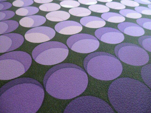 tapete wandtapete original 70er op art 3 d lila violett. Black Bedroom Furniture Sets. Home Design Ideas