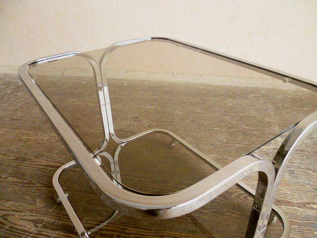 stylischer teewagen servierwagen chrom rauchglas. Black Bedroom Furniture Sets. Home Design Ideas