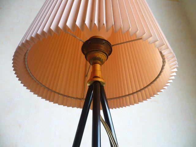 Exklusive tripod stehlampe lampe leuchte lamp dreibein for Gebrauchter schaukelstuhl